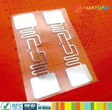 外国人9662 UHF RFIDの付着力の札RFIDのラベル