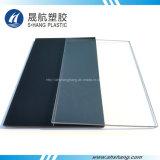 Placa plástica sólida del policarbonato de bronce transparente con de alta resistencia
