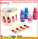 Etiqueta adhesiva para la torta de embalaje puro adhesivo pegatina etiqueta de lujo adhesivo de la etiqueta engomada