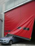 창고를 위한 급속한 상승 문을 고쳐 PVC 직물 각자