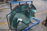 Niedriges e-doppeltes glasig-glänzendes Glas für Zwischenwand, Fenster-Tür, Fassade