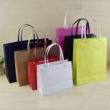 Подгонянный мешок упаковки подарка бумаги Kraft для одежды & ботинок