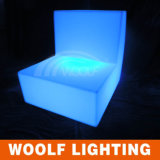Sofa du jardin lumineux par sofa simple DEL de DEL