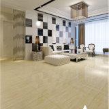 Azulejo de suelo por completo esmaltado de madera de la porcelana del diseño del material de construcción (600*600m m)