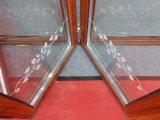 Fabricación de aluminio de la puerta de plegamiento del marco en Guangzhou
