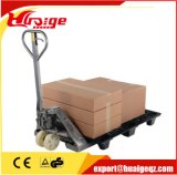 1 Vrachtwagen van de Pallet van de Hand van de ton de Hydraulische met het Nylon Wiel van Pu