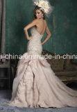 Оглушать отбортовывающ мантию венчания платья выпускного вечера платья венчания Trumpet Mermaid лифа (Dream-100033)