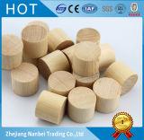 Blocchetti rotondi di legno solido