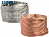 高い電気伝導性の裸の銅線