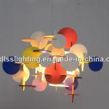 Moderner DIY bunter hölzerner Dekoration Lighitng Raum-hängende Lampe