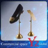 Schuh-Bildschirmanzeige-Zahnstangen-Edelstahl-Schuh-Zahnstangen-Schuh-Standplatz-Schuh-Regal-Schuh-Halter-Schuh-Ausstellung-Schuh-Aufsatz des Schuh-Ausstellungsstand-(YZ161508)