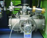 El Ce certificó el compresor de aire sin aceite del tornillo del lubricante del 100% (90KW, 10bar)