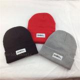 Chapéus feitos sob encomenda do Beanie do inverno do Knit da importação em China