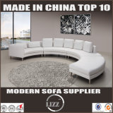 Sofá de couro moderno de alta qualidade Sofá de sala de estar Sofá