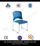 Cadeira do plástico da pilha do verde da capacidade Hzpc274