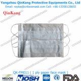 nichtgewebter chirurgischer Respirator 3ply und medizinische Stirnband-Prozedur-Gesichtsmaske