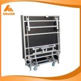 Fácil a plegable la etapa de aluminio al aire libre del funcionamiento