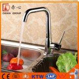 Laiton d'OEM 3 robinets de cuisine de voies pour l'eau épurée par eau potable