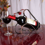 Elegant Magic Metal Beer Wine Bottle Holder with Black Wire