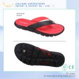 Los hombres de moda de playa de PVC superior correas suela de EVA Flip Flops Presión