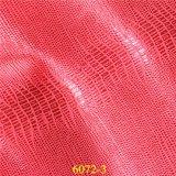 La Cina ha esportato il cuoio sintetico della mascherina di calzatura dell'unità di elaborazione di qualità