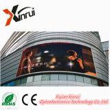 INMERSIÓN al aire libre LED del RGB P10 que hace publicidad de la pantalla de visualización del módulo