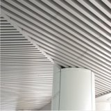 Teto linear do defletor de alumínio da extrusão com projeto formado
