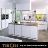 순수한 백색 부엌 단위 새로운 디자인 섬 부엌 찬장 Tivo-0068V