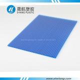 hoja polivinílica hueco del material para techos del carbonato de los 2.1*6m con la protección ULTRAVIOLETA
