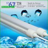 L'alloggiamento T8 del PC impermeabilizza l'indicatore luminoso subacqueo del tubo del LED