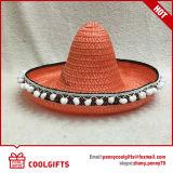 服党のための虹の大きいソンブレロのメキシコ麦わら帽子