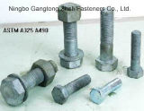 Heiße des Verkaufs-ASTM A490 Hälfte verlegte schwere Hex Schrauben-