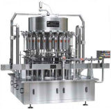 Máquina de etiquetado linear automática de la máquina de rellenar del agua embotellada