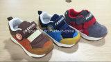 Premières chaussures occasionnelles de vente avec Cowsuede pour des enfants