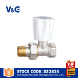 Válvula de bronze solar do radiador do calefator de água (VG-K14131)