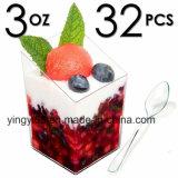 Koppen van het Dessert van de Verkoop van de fabriek de Directe Mini