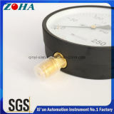 Steel Case Brass Connector Big Manometer 250kpa OEM ODM Solution