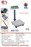 Balanças eletrônicas da série Tcs com plataforma de pesagem LCD Blacklight