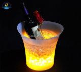 Dehuan LED 맥주 점화 얼음 양동이 관례 로고