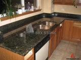 Controsoffitti del laminato del granito di verde del Tuba di Uba per la cucina e la stanza da bagno