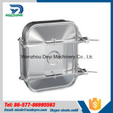 Couverture de trou d'homme sanitaire de l'acier inoxydable Ss304 Ss316L Retangular