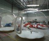 Barraca inflável da bolha, barraca desobstruída ao ar livre da abóbada
