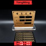 Dragón del casino y muestra de cobre pura de alto grado Ym-LC09 del límite del vector de tarjeta de la apuesta de la hospitalidad del tigre