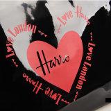 큰 크기 방수 PVC 쇼핑 백 검정 핸드백 (H013-1)