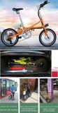 Bicicleta de dobramento com movimentação traseira sem escova o motor 36V/250W engrenado