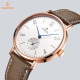 El nuevo reloj del cuarzo del estilo de Timesea 2017, forma a acero inoxidable el reloj unisex 72716