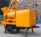 Bomba concreta elétrica de eficiência elevada de grande capacidade com misturador