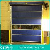 Puerta Rápida del Obturador del Rodillo de la Tela del PVC para la Ducha de Aire