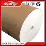 """17 """", 24 """" бумаги переноса сублимации Jumbo крена 55g для печатание тканья"""