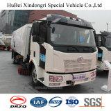 5ton Vrachtwagen van de Was van de Straatveger van 3 Straat van FAW de Euro met Dieselmotor Deutz